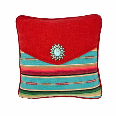 Laredo Envelope Throw Pillow Size: 14 H x 20 W