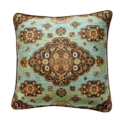 Kensington Reversible Euro Sham Color: Teal
