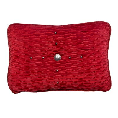 Ventura Lumbar Pillow Color: Red