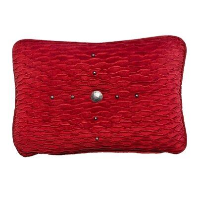 Ventura Lumbar Pillow Color: Red