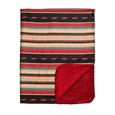 Ventura Reversible Throw Color: Red