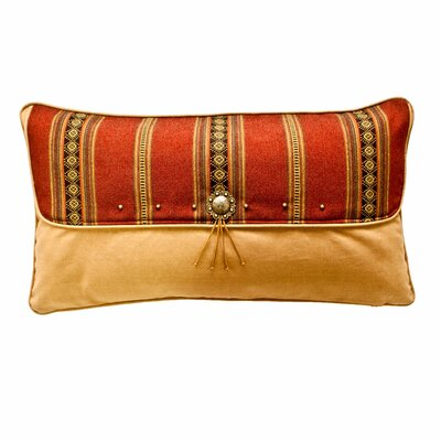 Kensington Flap Sham Size: King, Color: Rust