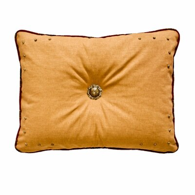 Kensington Lumbar Pillow Size: 14 H x 20 W, Color: Rust