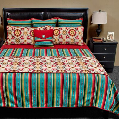 Laredo Coverlet Reversible Set Size: King Plus