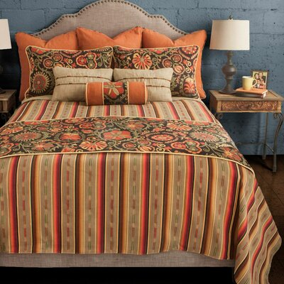 Laredo Coverlet Reversible Set Size: California King