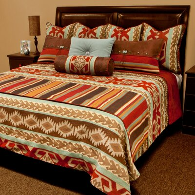Balboa Coverlet Reversible Set Size: Queen Plus