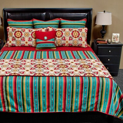 Laredo Coverlet Set Size: Queen Plus