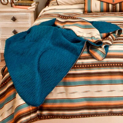 Ventura Reversible Throw Color: Teal
