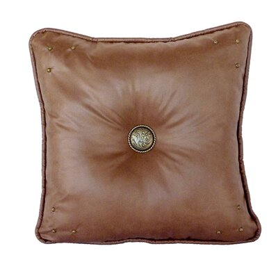 Safari Throw Pillow Color: Saddle / Hemsworth