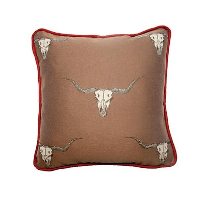 Pensacola Throw Pillow Color: Stampede Sandstone