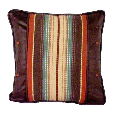 Santa Fe Stripe and Safari Throw Pillow
