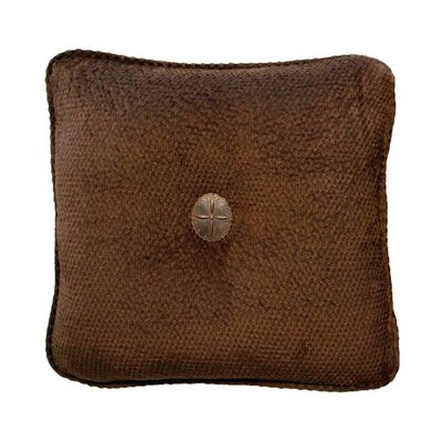 Casanova Throw Pillow Color: Brown