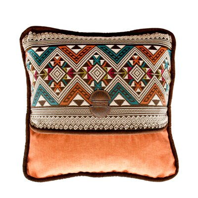 Navarro and Panama Sienna Throw Pillow