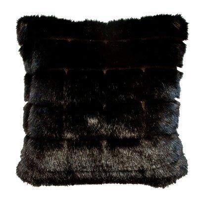 Adele Throw Pillow Color: Black