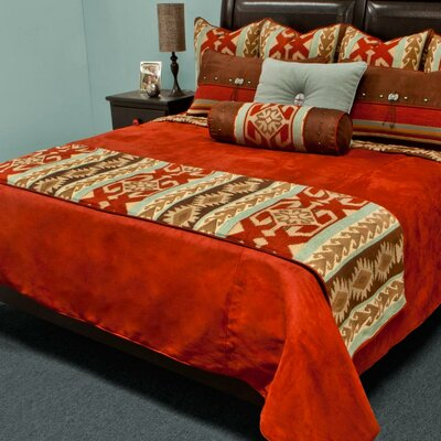 Balboa Reversible Bed Runner Size: California King