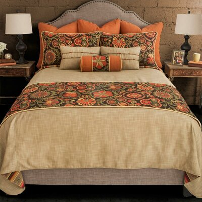 Laredo Desert Reversible Bed Runner Size: King