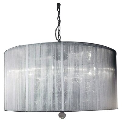 Heritage 6-Light Drum Chandelier