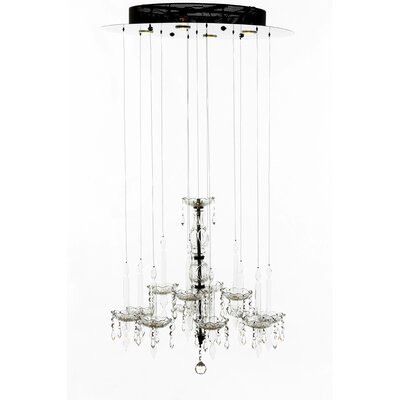The Chastre 4-Light Crystal Chandelier