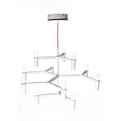 Shannon 12-Light LED Sputnik Chandelier