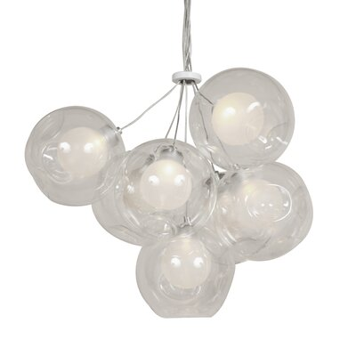 The Holbaek 7-Light Shaded Chandelier