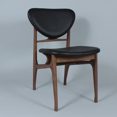 The Sandler Genuine Leather Upholstered Dining Chair