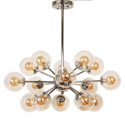 Ystad 16-Light Cluster Pendant