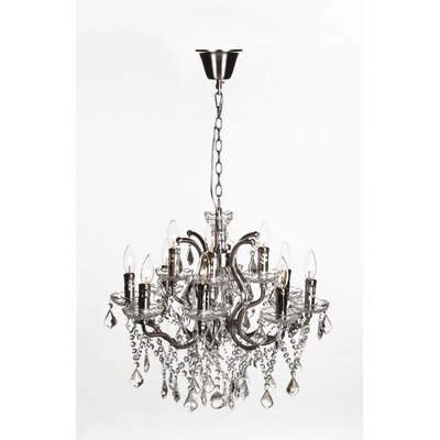 Halcyon 12-Light Crystal Chandelier