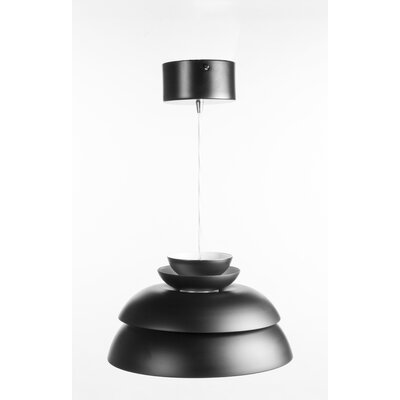 Drammen 1-Light Mini Pendant� Finish: Black