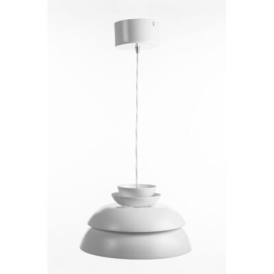 Drammen 1-Light Mini Pendant� Finish: White