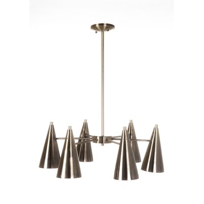 Pine Cone 6-Light Kitchen Island Pendant