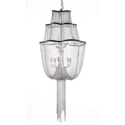 The Flow 7-Light Waterfall Chandelier