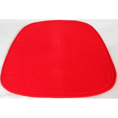 dCOR design Lounge Chair Cushion - Fabric: Red