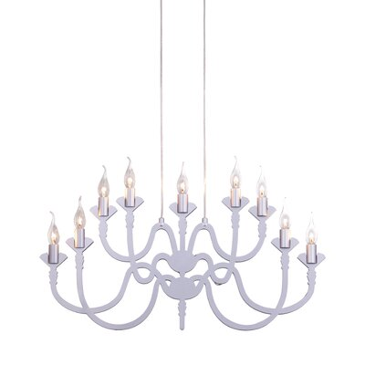 Supercell 9-Light Candle-Style Chandelier