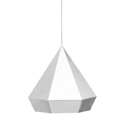 Trosper 1-Light Mini Pendant Finish: Chrome, Bulb Type: E26
