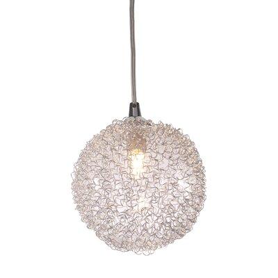 Cassius 1-Light Globe Pendant
