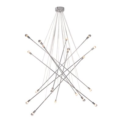 Belief 18-Light Sputnik Chandelier