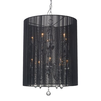 Whitney 10-Light Drum Pendant