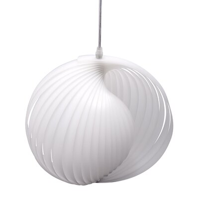 Galileo 1-Light Globe Pendant