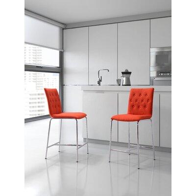 Uppsala Side Chair Upholstery: Tangerine