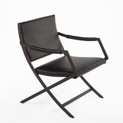 Uggerby Armchair Color: Black