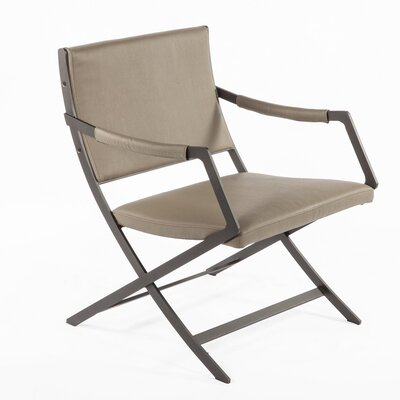 Uggerby Armchair Color: Taupe