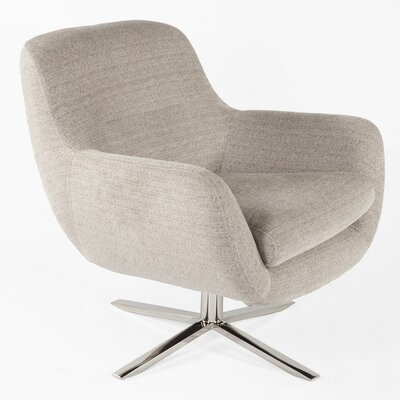 Uge Lounge Chair Color: Gray