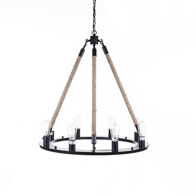 Holen 8-Light Candle-Style Chandelier
