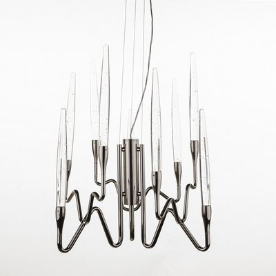 Ede 9-Light Candle-Style Chandelier