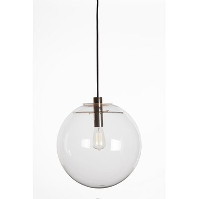 Boras 1-Light Globe Pendant