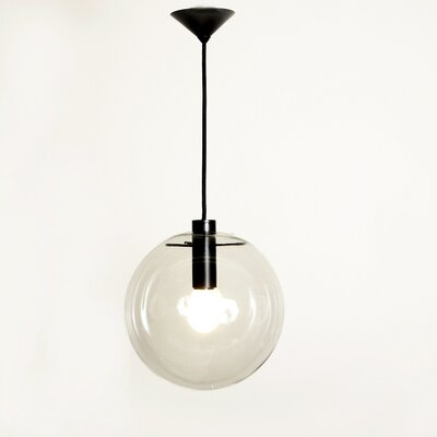 1-Light Globe Pendant Size: Medium