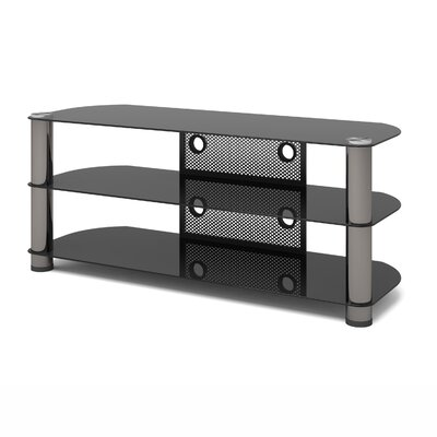 New York 50-58 TV Stand Width of TV Stand: 21 H x 50 W x 18.5 D