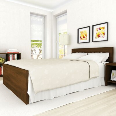Brook Panel Headboard and Footboard Size: Twin, Finish: Urban Maple