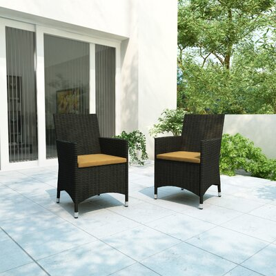 dCOR design Cascade 2 Piece Seating Group with Cushions