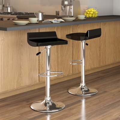 dcor design corliving adjustable height swivel bar stool ope